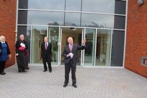 Professor Davidson opens Cofton Halls