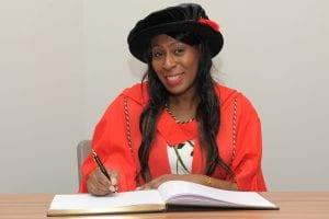 Marcia Shakespeare, Newman Honorary Grad