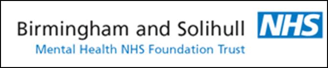 Birmingham and Solihull NHS Trust logo
