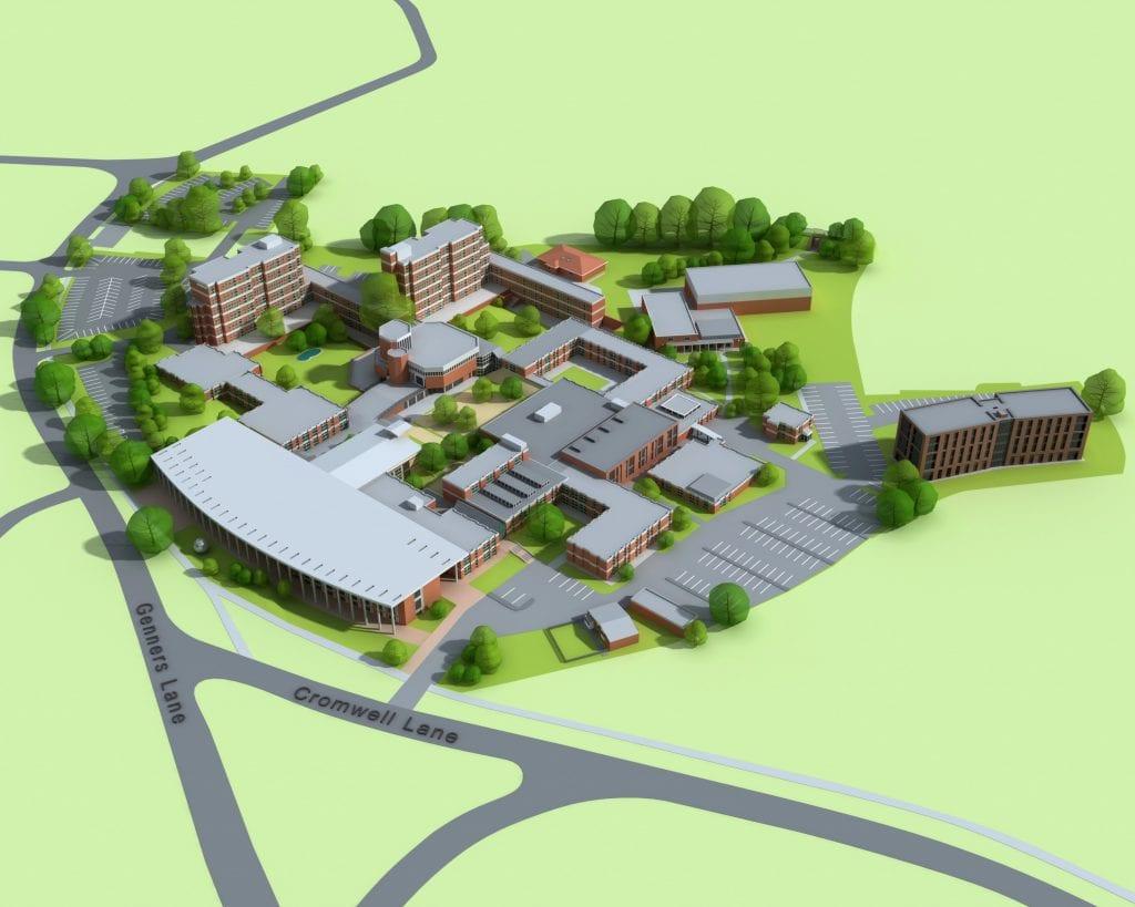 Newman University campus map