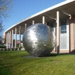 The Newman Globe in the daytime