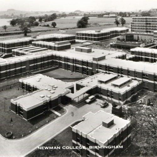 Bird's eye of Newman College