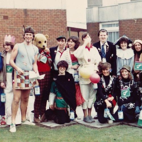Newman Rag week 1980-81