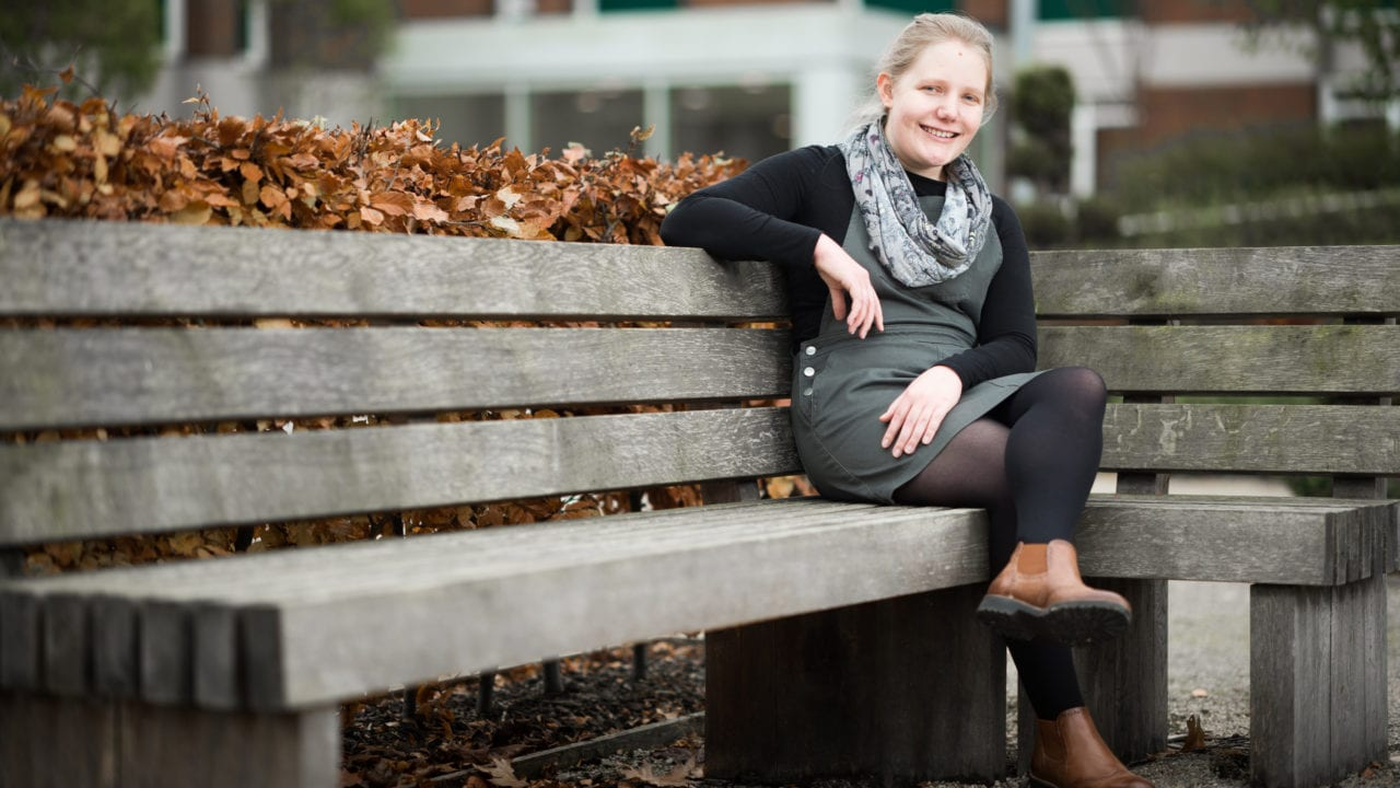 Scarlett Hall, History student