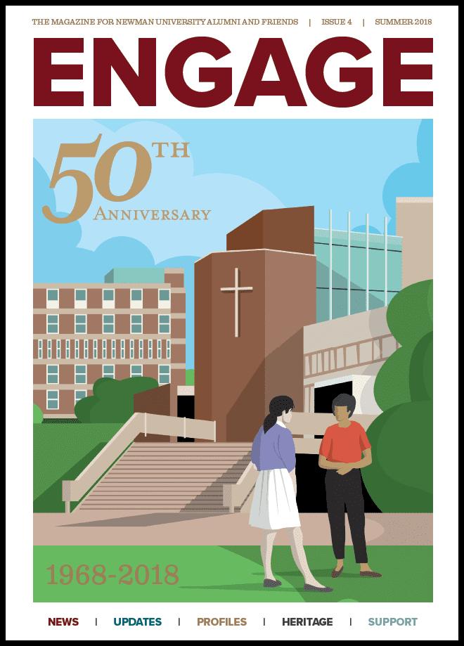 Engage magazine - 50th anniversary