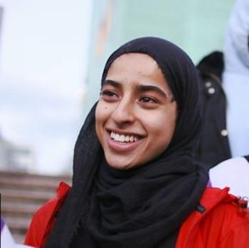 Moona Ali, newman student