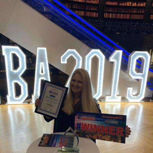 Sarah wins award