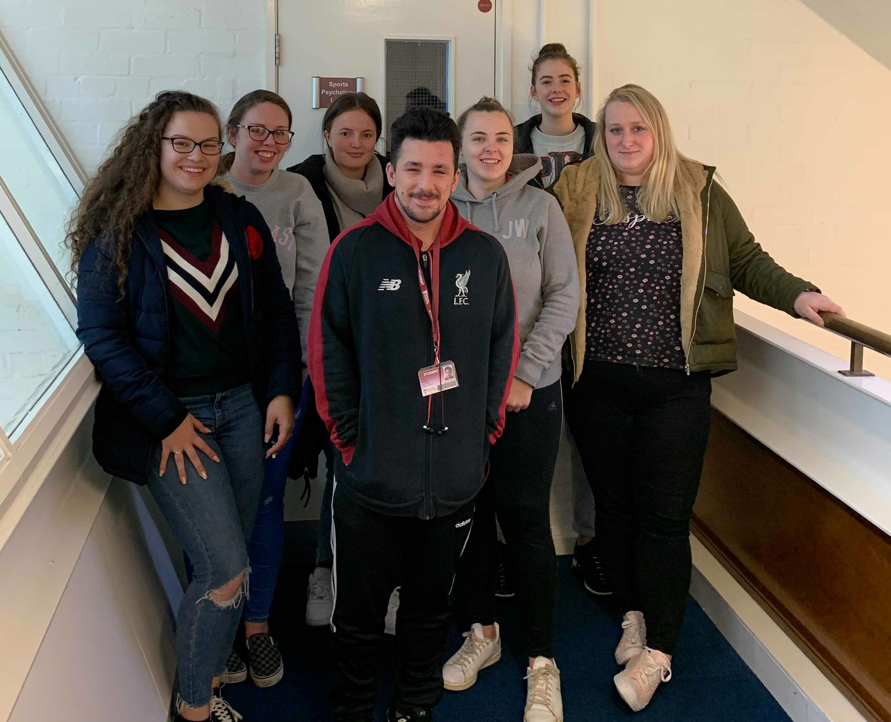 Sports students organise charity event