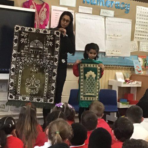 Muslim Chaplain speaks at local primary school