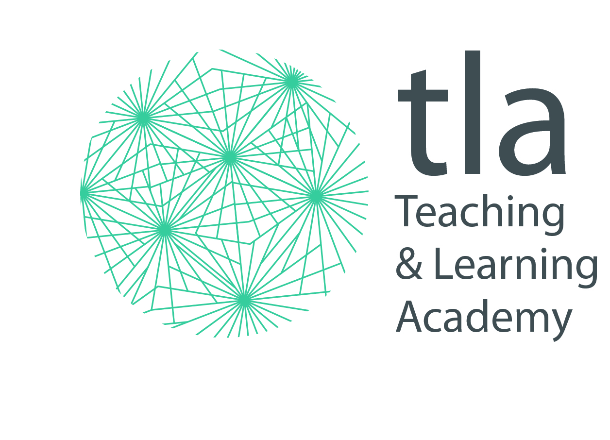 teaching & learning academy Logo with TLA wording