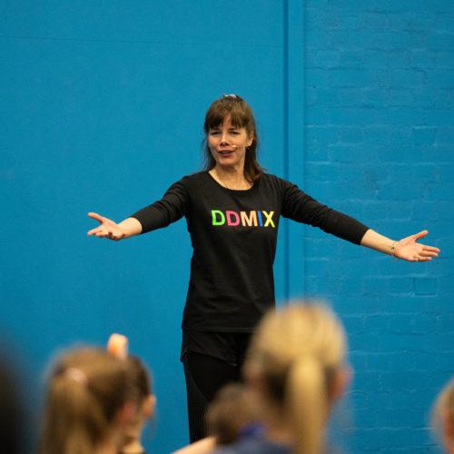 Darcey Bussell dance class at Newman University