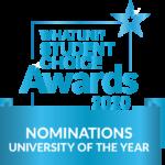WhatUni nomination 2020 - university of the year