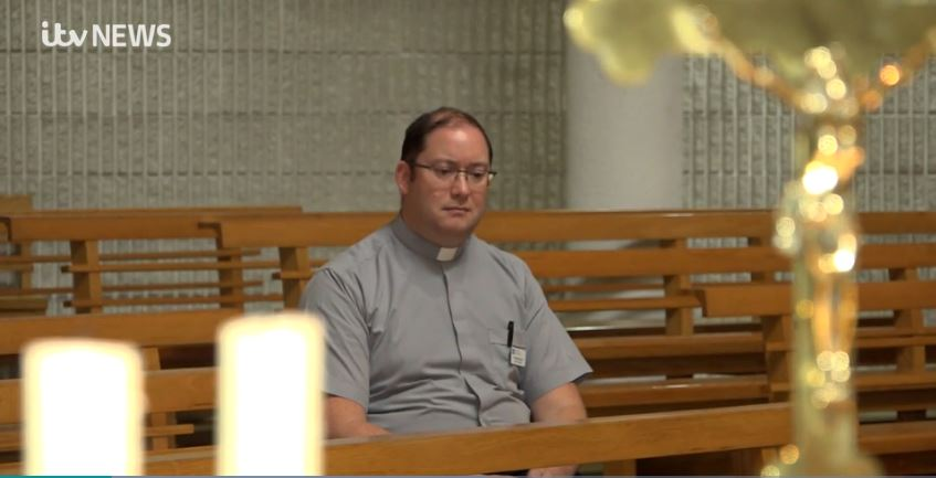 Fr Robert Sloan, postgraduate chaplaincy student