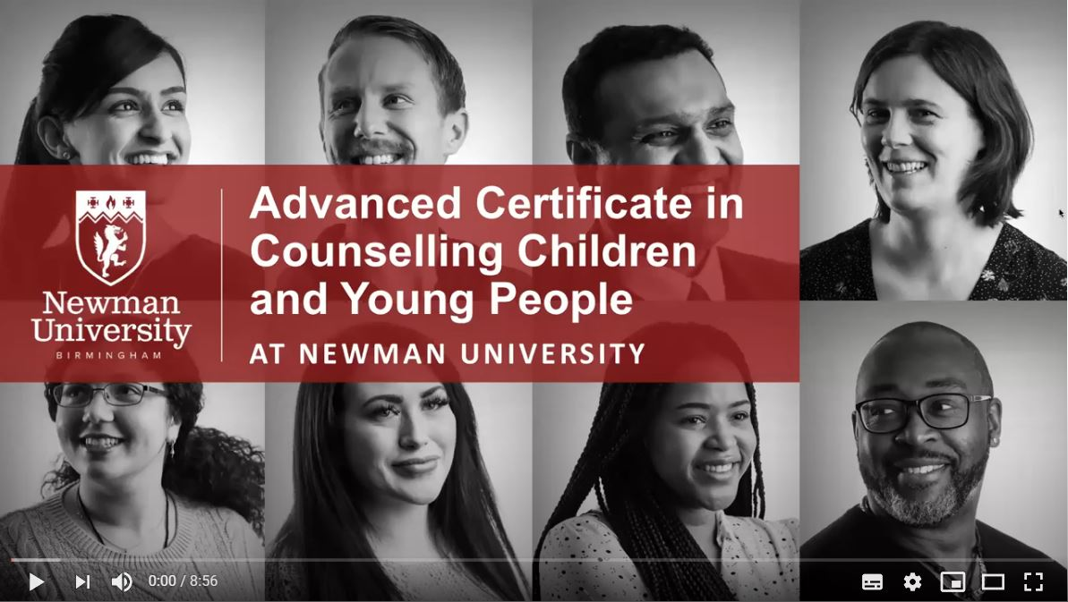 Advanced Certificate in Counselling Children and Young People Open Day video