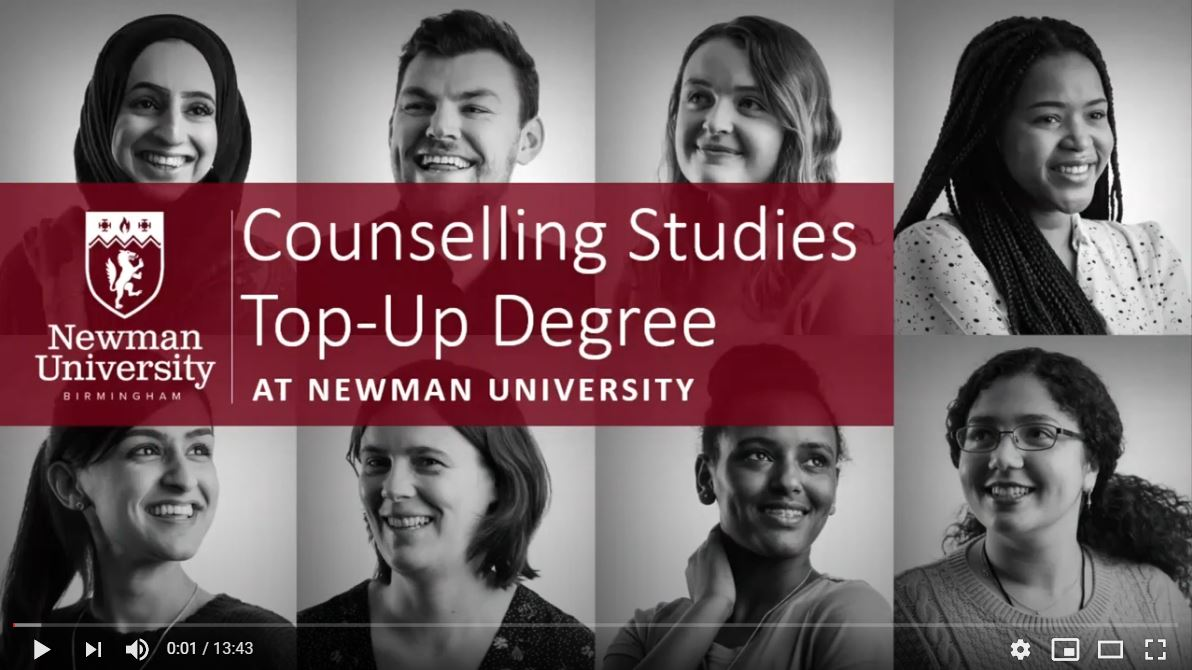 Counselling Studies Top-Up open day video