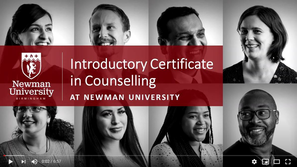 Introductory Certificate in Counselling open day video