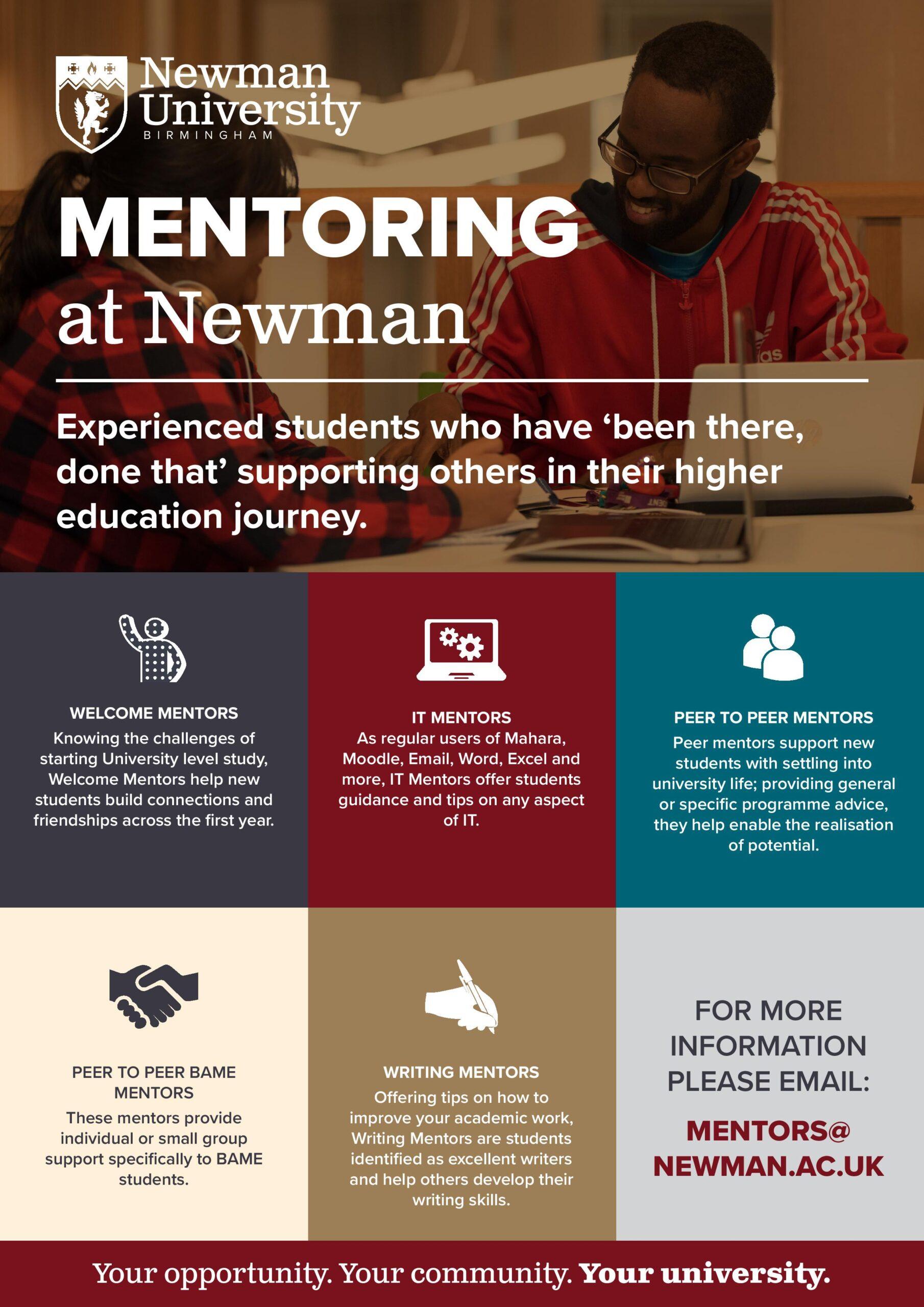 Mentoring at Newman University