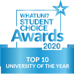 whatuni student choice awards top 10 university