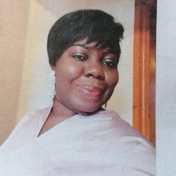Student Bridget Obi celebrates achieving first class honours