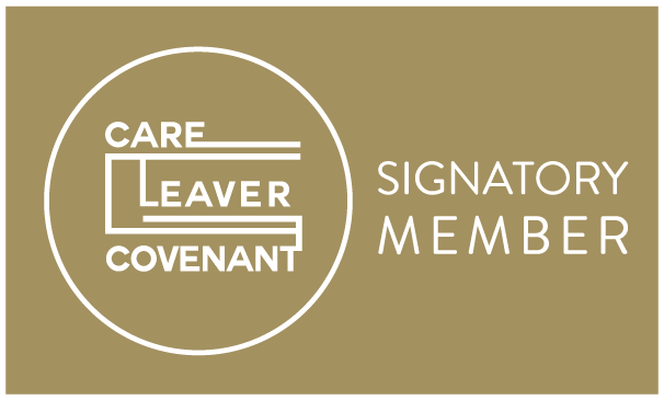 Care Leaver Covenant signatory member logo