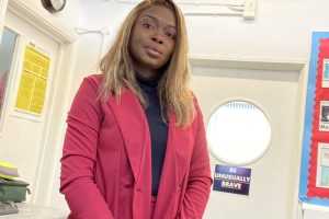Alumna student Tessy creates support group for teachers