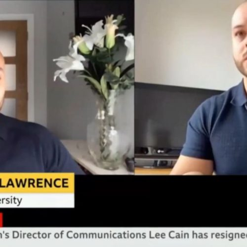 Dr Lawrence on BBC News
