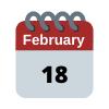 18 Feb calendar