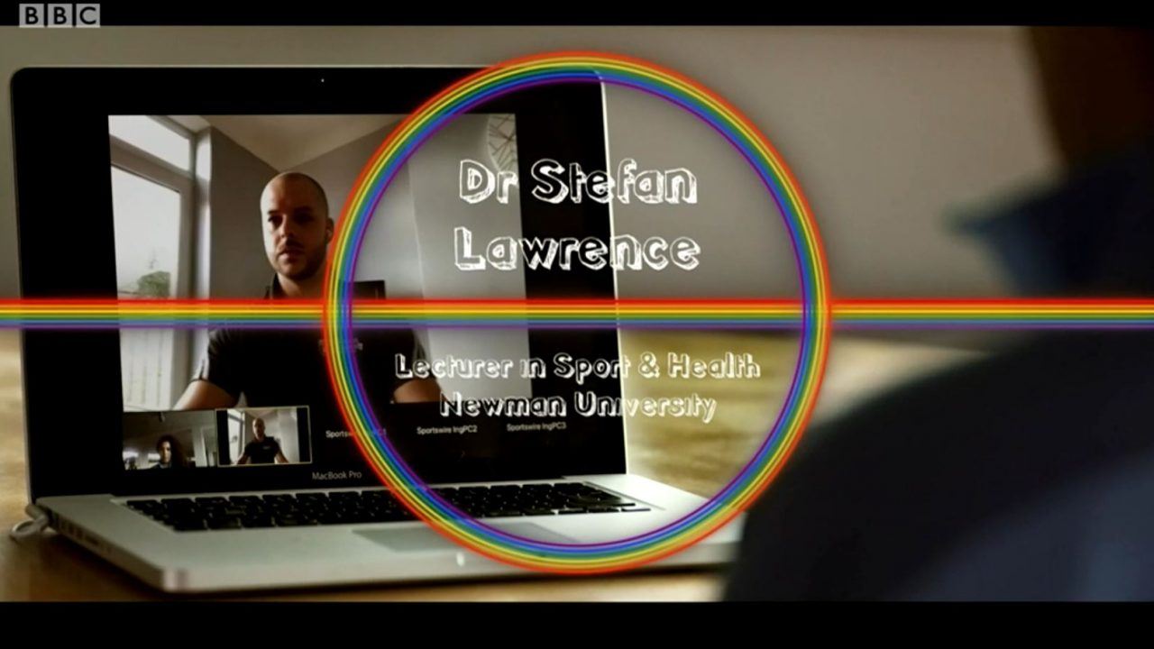 Dr Stefan Lawrence features on BBC One Football Focus