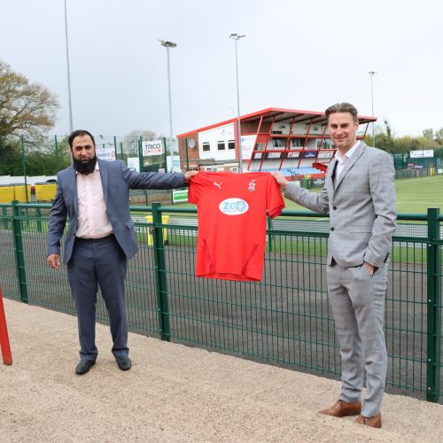 Newman partners with Redditch FC