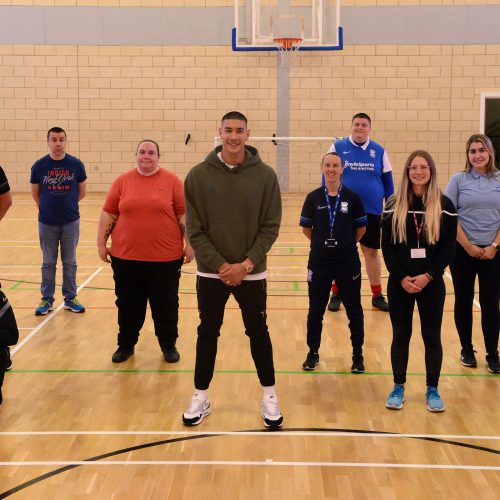Mental Health football session at Birmingham City FC
